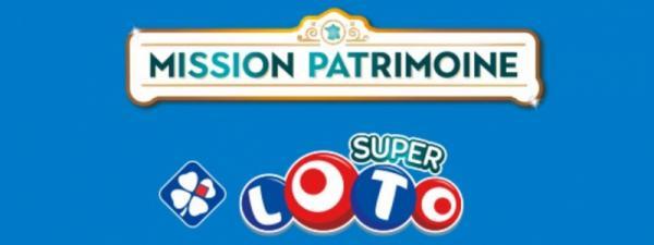 Super Loto Mission Patrimoine : un jackpot de 13 millions d'euros