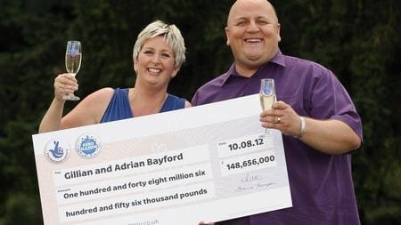 Gillian et Adrian Bayford