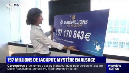 EuroMillions : 157 millions d'euros pour le 3e plus gros gagnant de France